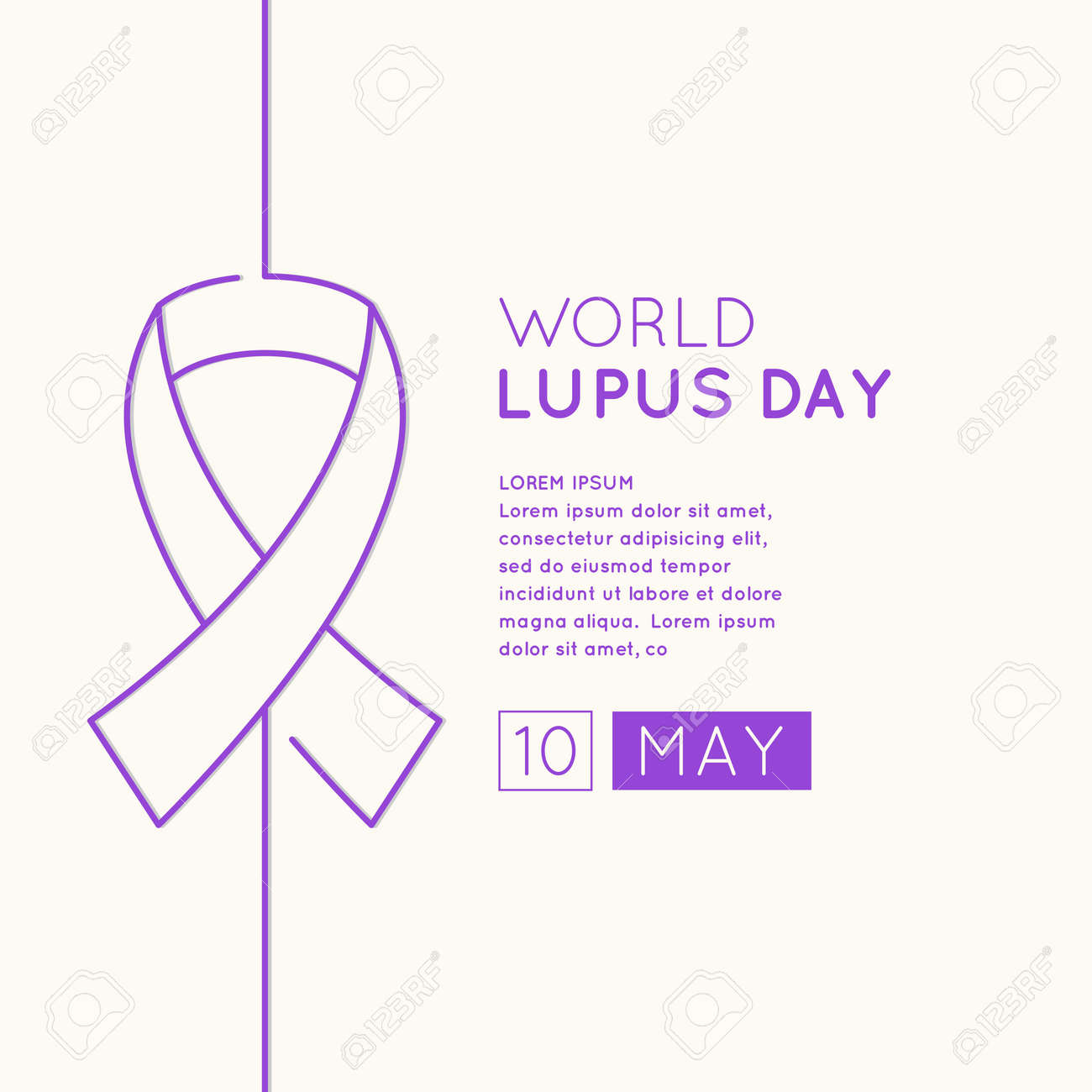 Poster of the world day of struggle with lupus the inscription poster of the world day of struggle with lupus the inscription lupus day may biocorpaavc Image collections