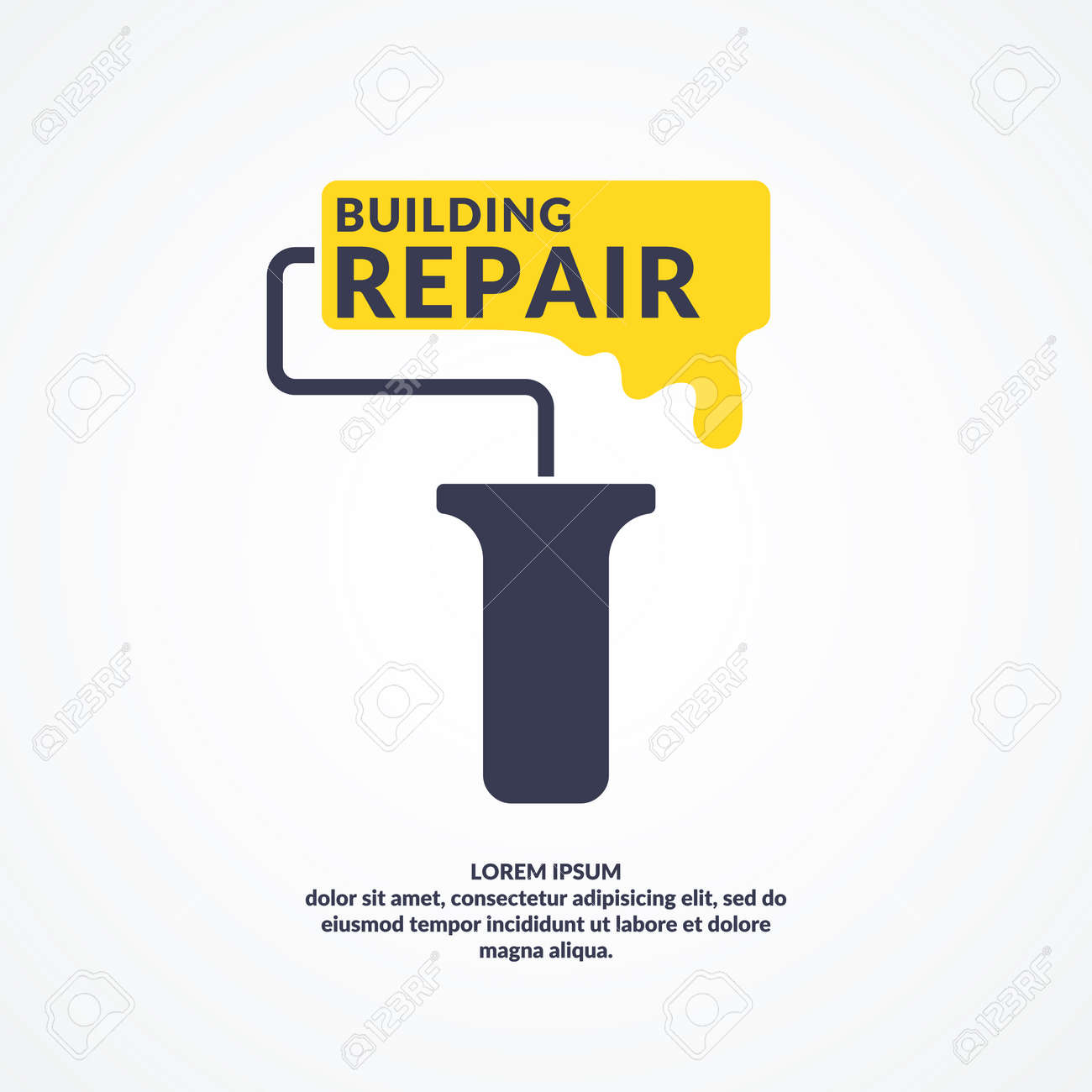 hand tool for home renovation and construction building and house repair the conceptual label