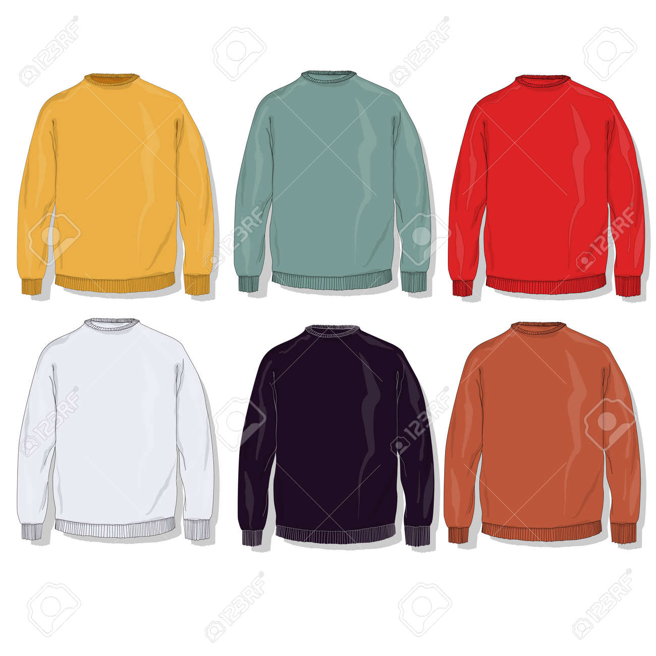 warm clothes collection stock photo picture and royalty free image