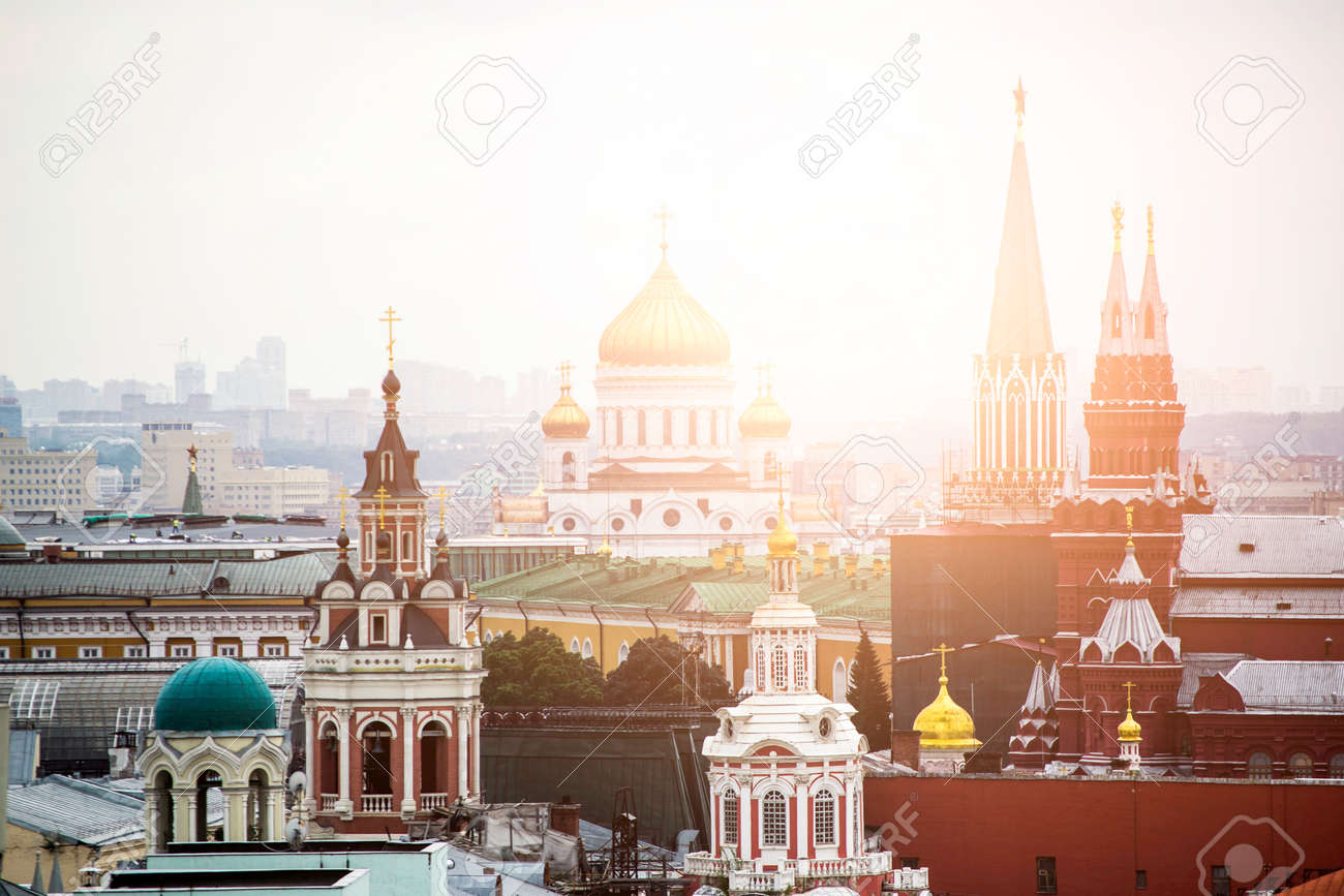Historic architecture in Moscow city - 129149017