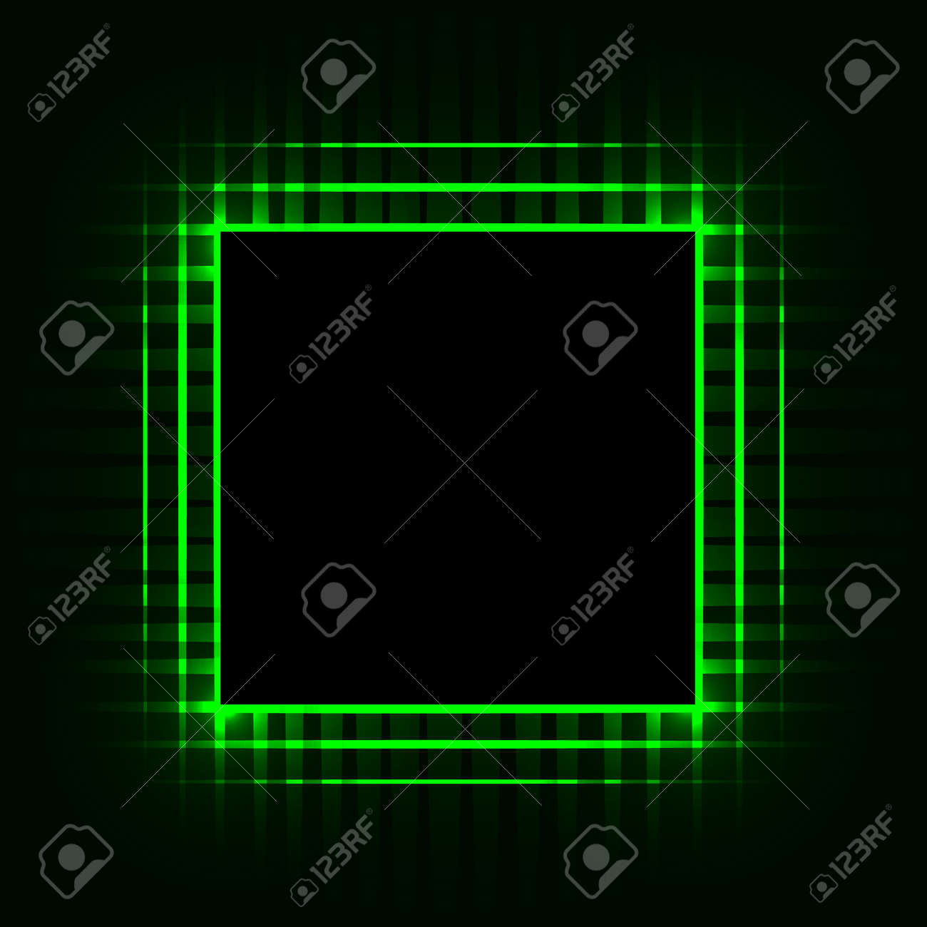 Cpu Printed Circuit Board Motherboard Chip Computer Abstract Symbol Background Vector