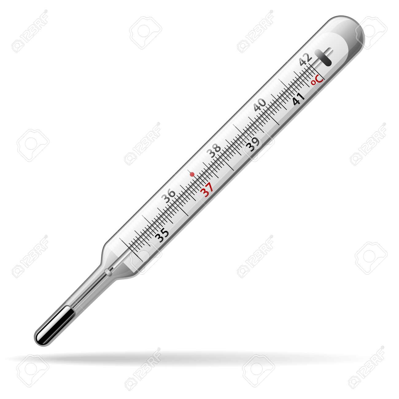 Termometro Medico Un Termometro De Mercurio De Vidrio Para Medir La Temperatura Del Cuerpo Humano Ilustracion Vectorial Ilustraciones Vectoriales Clip Art Vectorizado Libre De Derechos Image 77908504 Los termómetros de mercurio se utilizan en varios ámbitos y espacios. termometro medico un termometro de mercurio de vidrio para medir la temperatura del cuerpo humano ilustracion vectorial