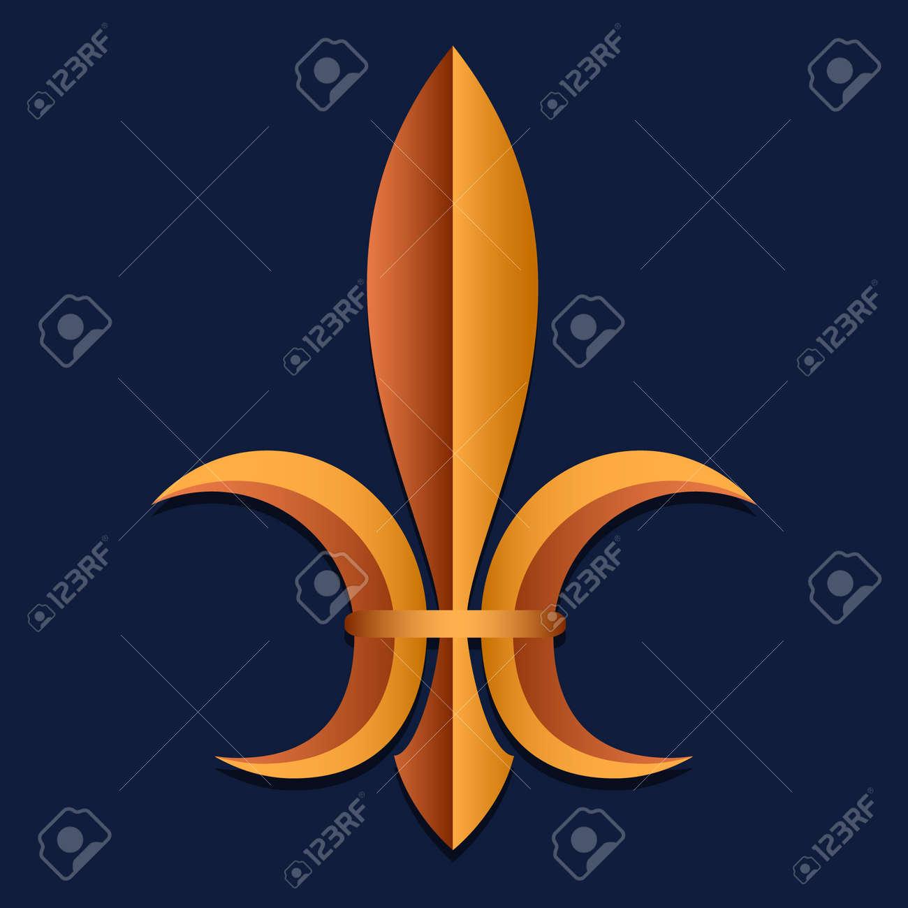 Symbol Of Royal Power In Medieval France Stylization Heraldry