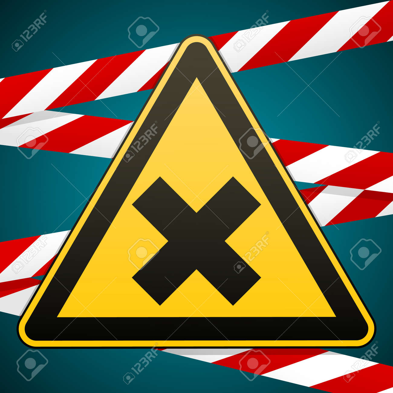 Safety sign caution danger harmful to health allergic irritant caution danger harmful to health allergic irritant substances barrier tape biocorpaavc Gallery
