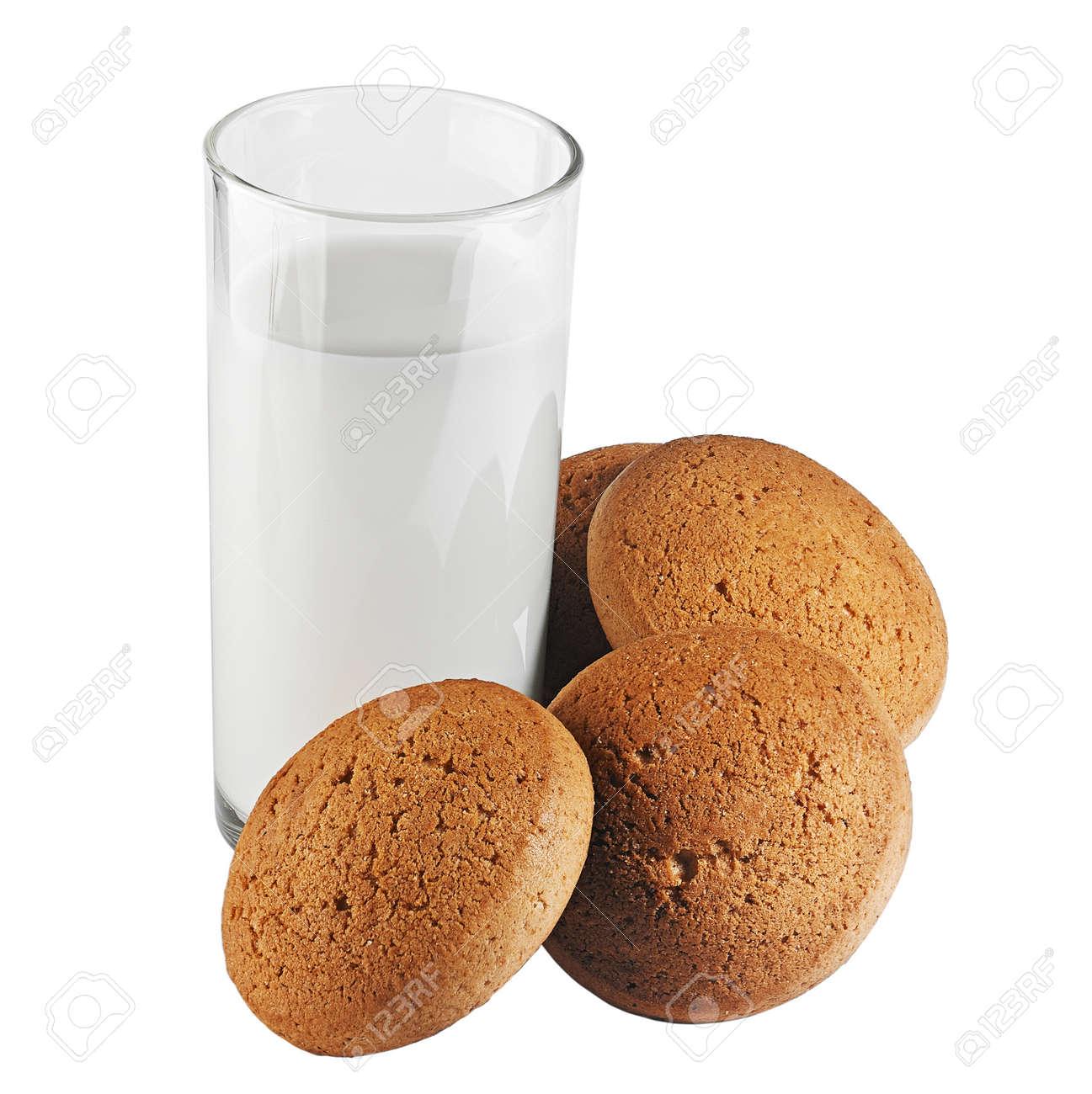 milk and cookies Stock Photo - 17667142