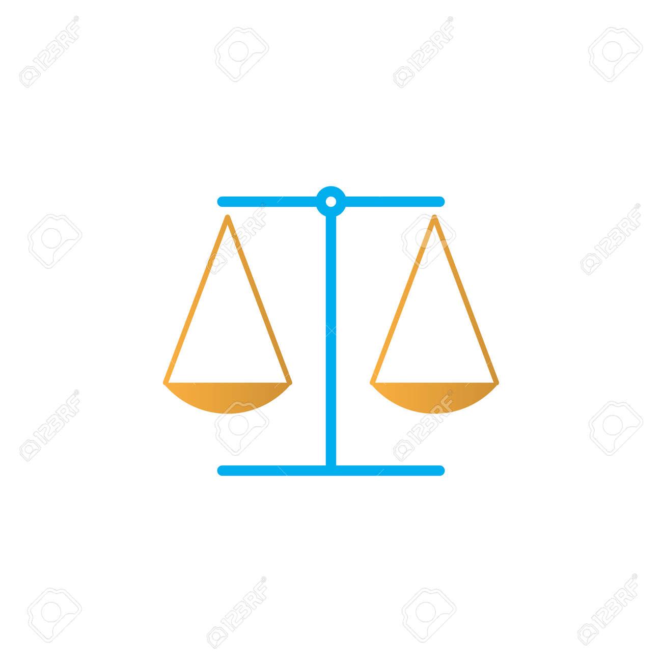 law symbol scales icon vector libra solid logo illustration rh 123rf com libre login libera login