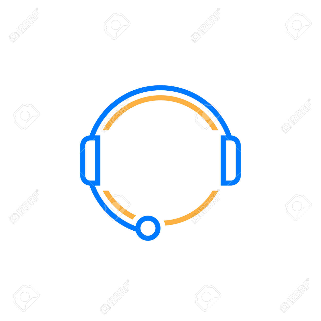 customer support line icon call center outline vector logo illustration royalty free cliparts vectors and stock illustration image 77920773 customer support line icon call center outline vector logo illustration