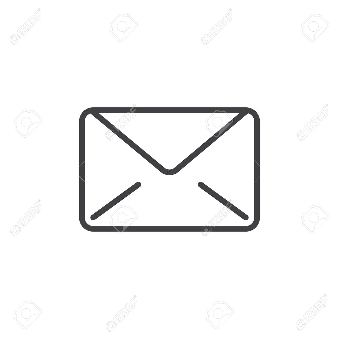Email message line icon outline vector sign linear style email message line icon outline vector sign linear style pictogram isolated on white buycottarizona