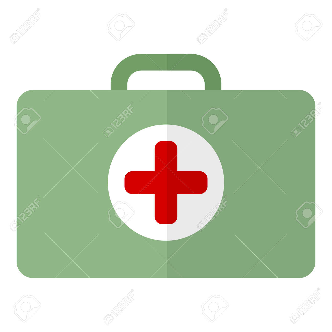first aid kit flat icon vector sign colorful pictogram isolated rh 123rf com vectorfirstaid serial vector first aid plugin