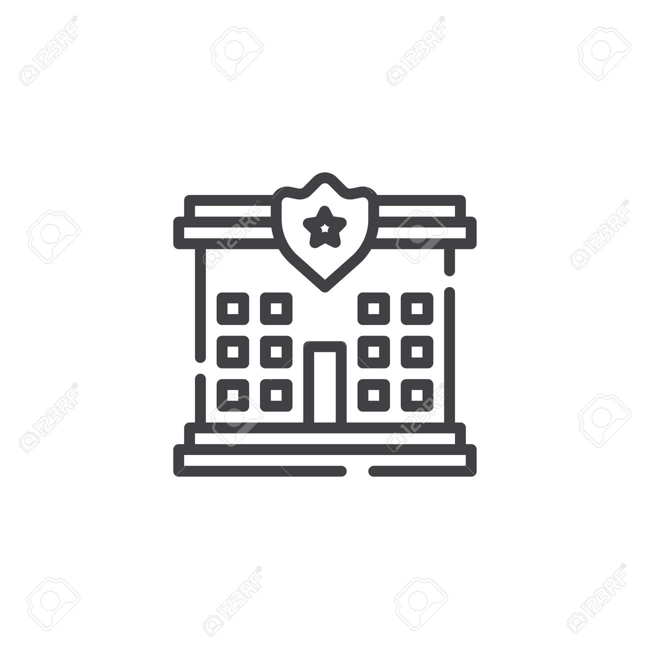 Police Station Symbol Choice Image Meaning Of This Symbol