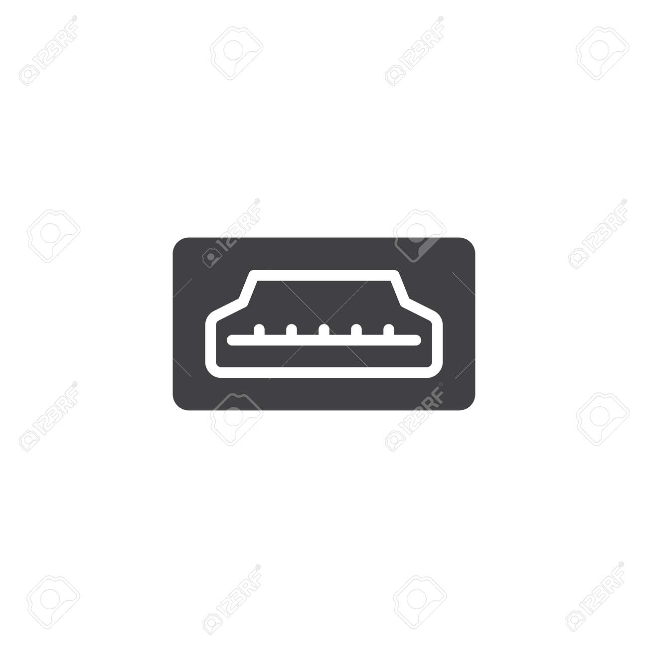 hdmi port icon vector filled flat sign solid pictogram isolated royalty free cliparts vectors and stock illustration image 94465712 hdmi port icon vector filled flat sign solid pictogram isolated