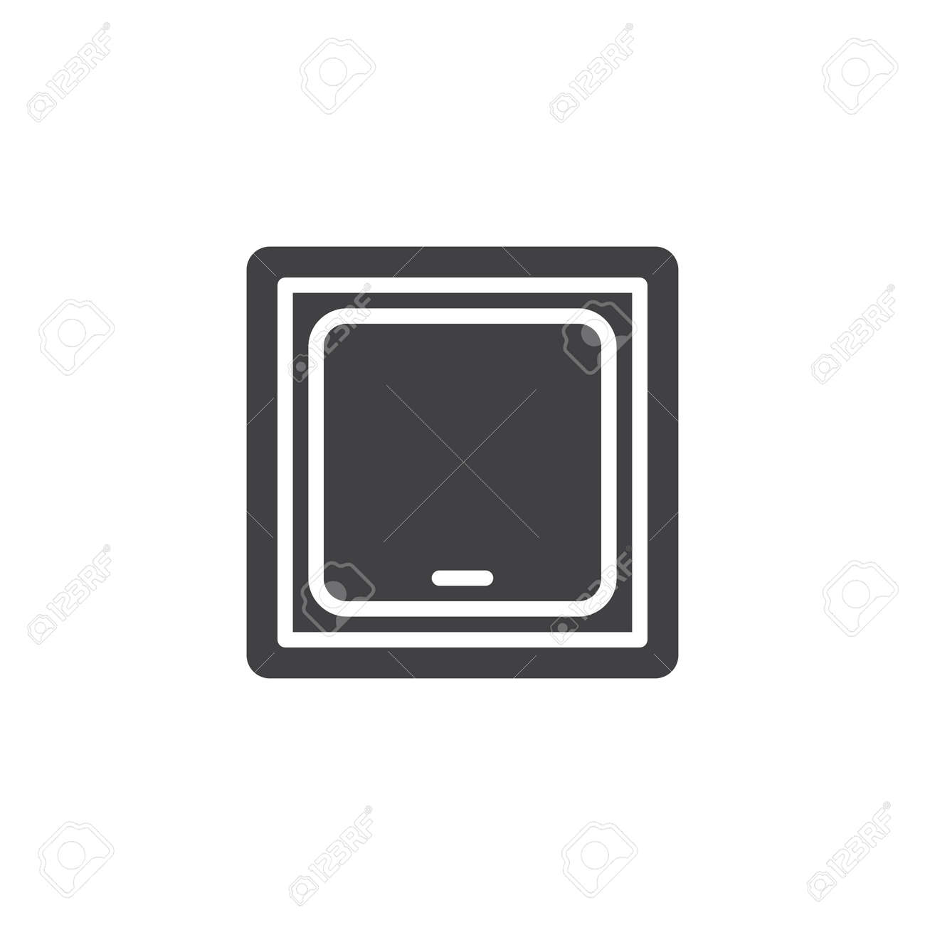 Light switch vector icon. filled flat sign for mobile concept and web on symbol for headlight, symbol for fuel tank, symbol for faucet, symbol for distributor, symbol for screw, symbol for remote control, symbol for condenser, symbol for button, symbol for cable, symbol for brake, symbol for light resistor, symbol for frame, symbol for grill, symbol for tachometer, symbol for hammer, symbol for fluorescent light, symbol for muffler, symbol for electric outlet, symbol for pilot light, symbol for wall light,