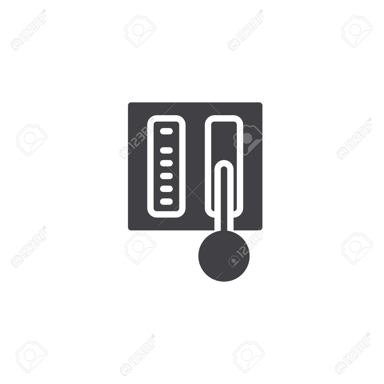 Car Automatic Transmission Vector Icon Filled Flat Sign For Royalty Free Cliparts Vectors And Stock Illustration Image 119492586