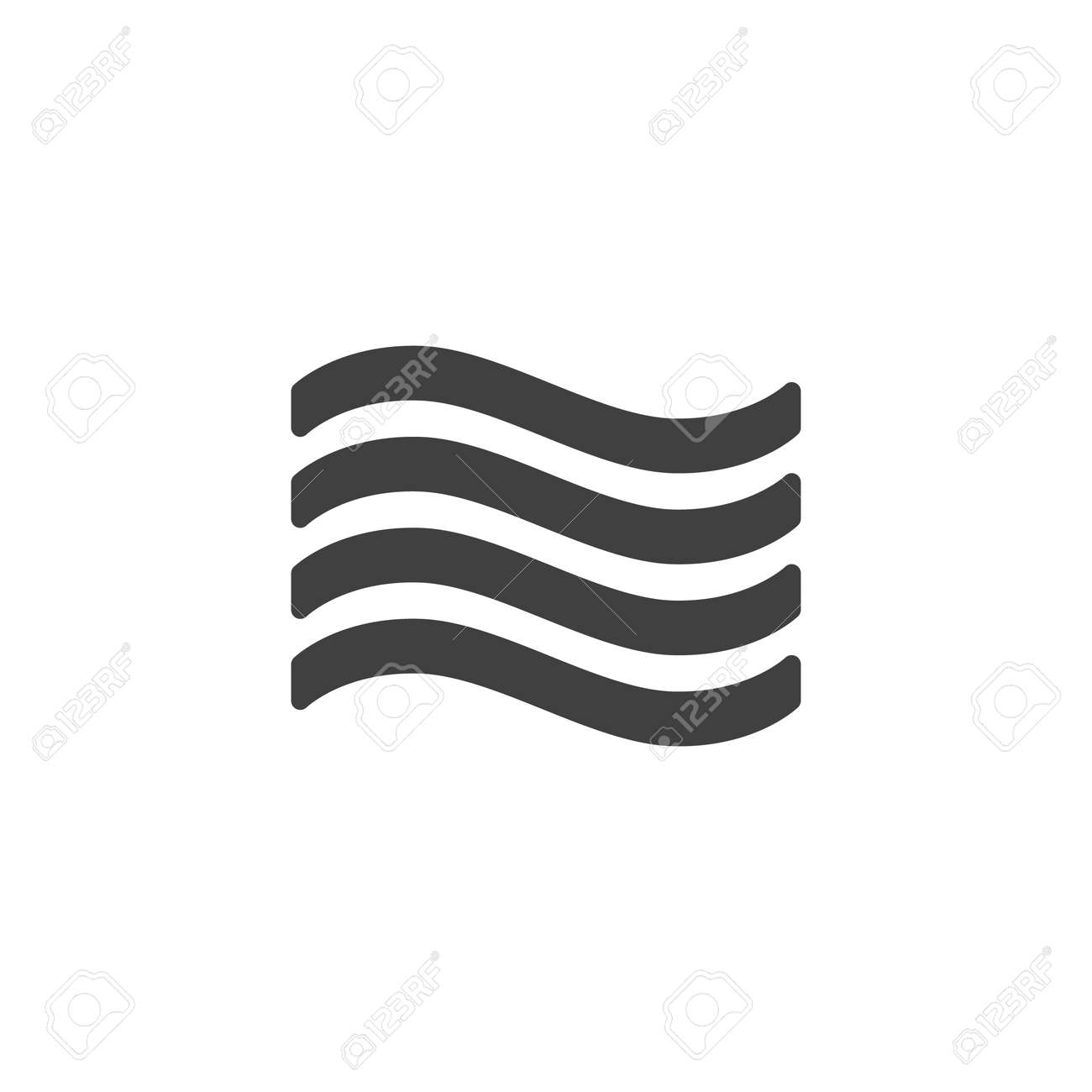 Wind blow vector icon. Air conditioning filled flat sign for mobile concept and web design. Wind, weather glyph icon. Symbol, illustration. Vector graphics - 135447356