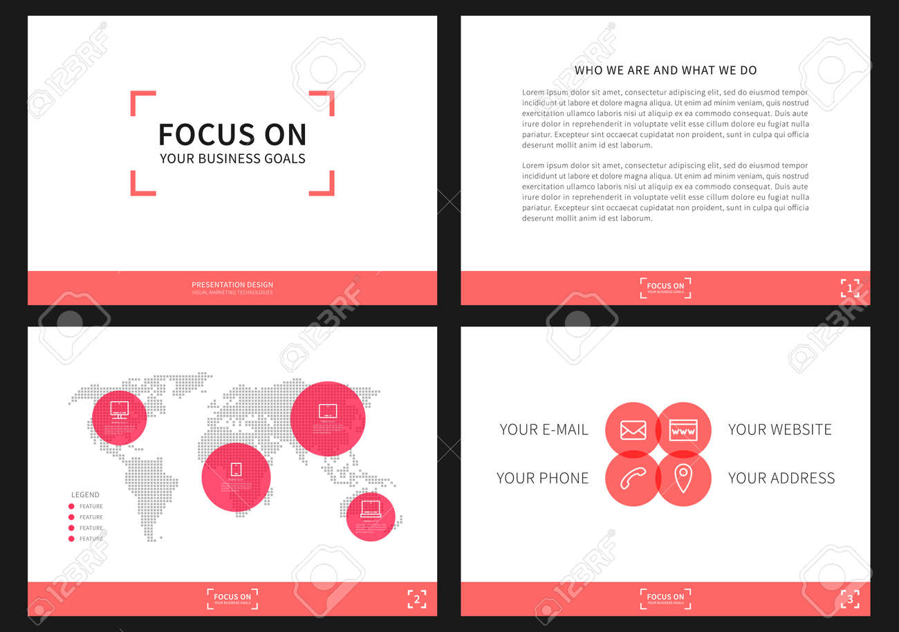 Presentation vector layout for corporate documents annual report presentation vector layout for corporate documents annual report business proposal book cover modern appearance presentation design with infographic thecheapjerseys Choice Image