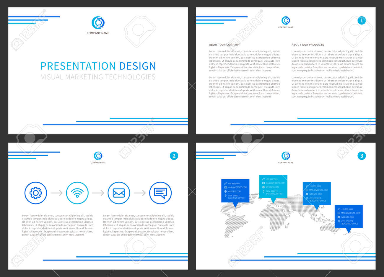 Presentation vector layout for corporate documents annual report presentation vector layout for corporate documents annual report business proposal modern presentation design thecheapjerseys Choice Image