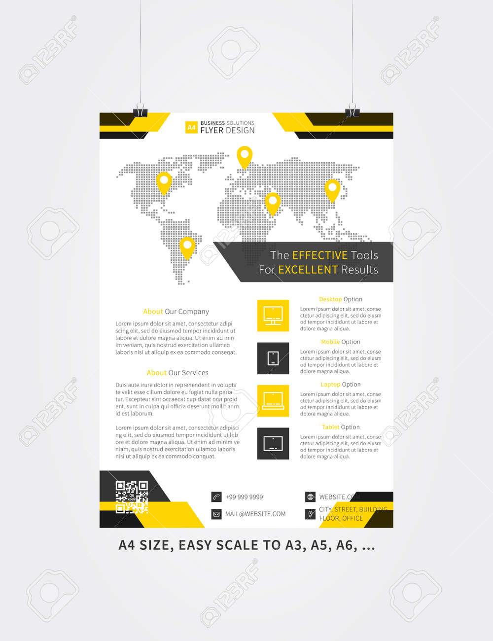 simple flyer templates free