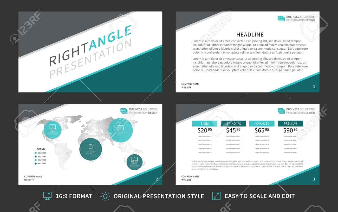 corporate presentation template modern business presentation