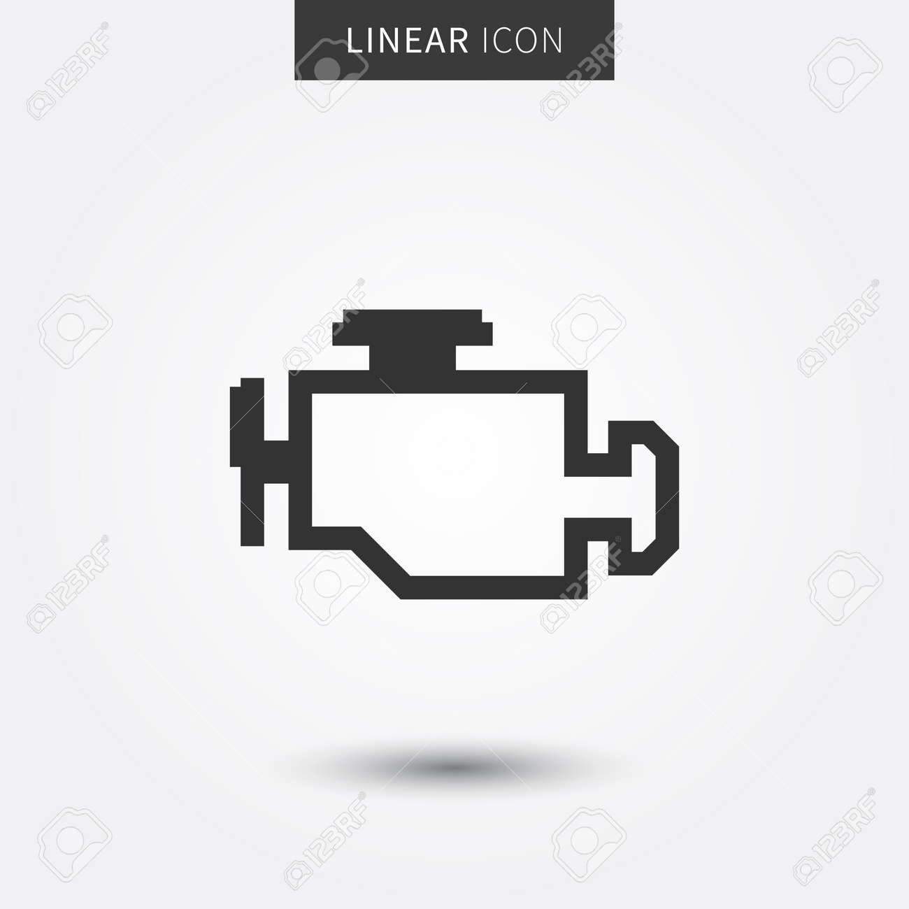 Check engine vector illustration car technical service icon check engine vector illustration car technical service icon check engine warning sign graphic design biocorpaavc Gallery