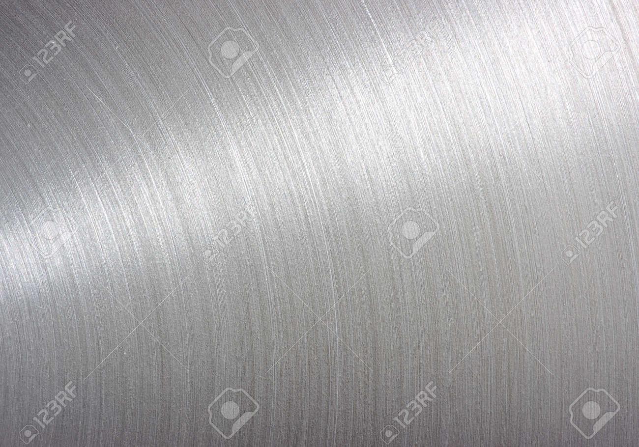 fond brossé plaque métallique en aluminium - Metal texture Banque d'images - 26177189