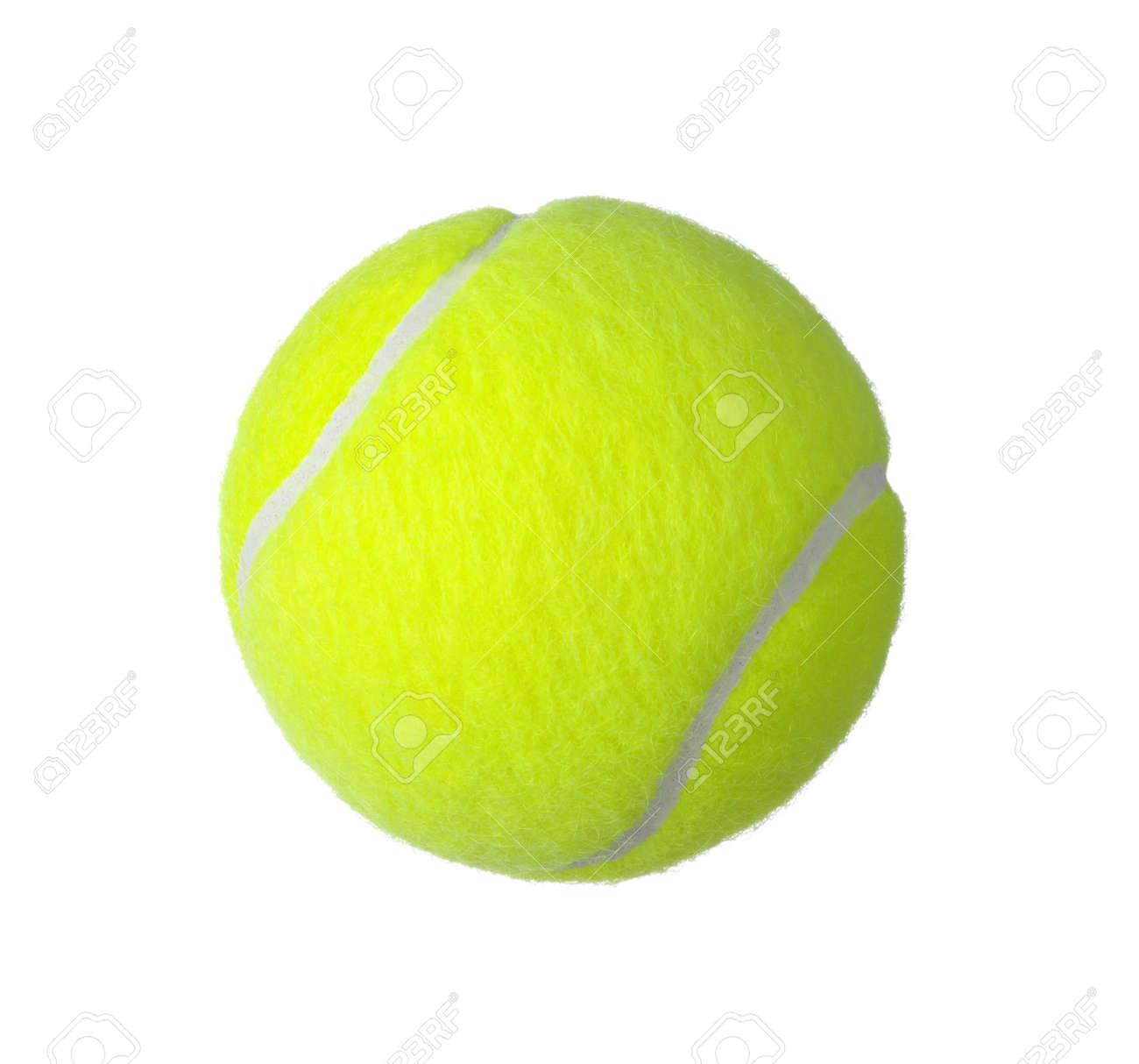 balle de tennis isolée sur fond blanc  Banque d'images - 37718530