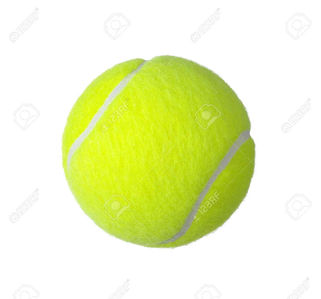 tennis ball isolated on white background Banque d'images - 37718530