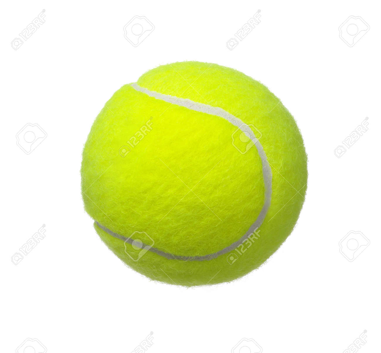 tennis ball isolated on white background Banque d'images - 38870607