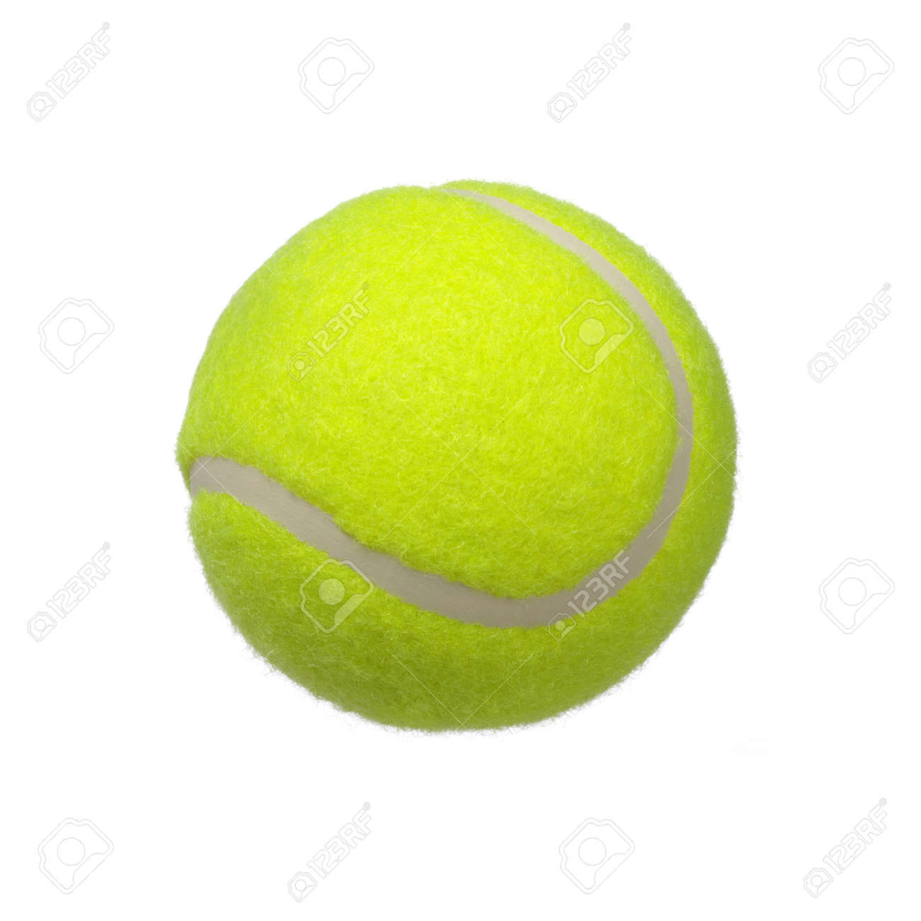 tennis ball isolated on white background Banque d'images - 44674853