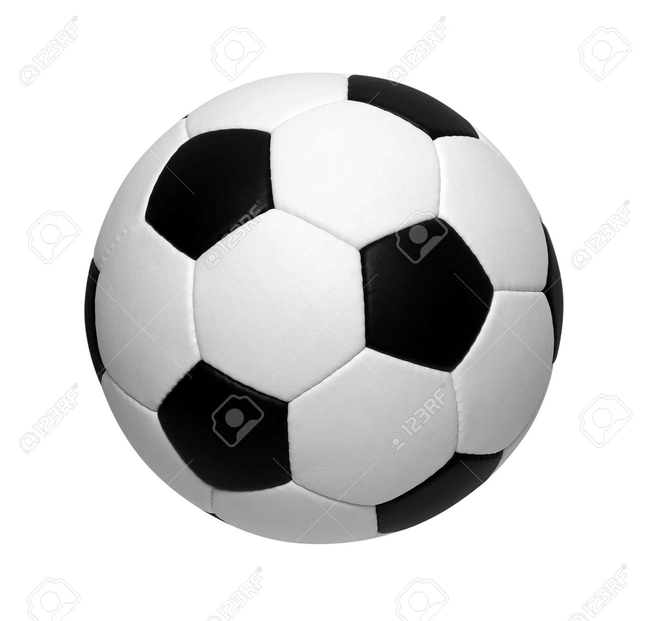 soccer ball isolated on white Banque d'images - 50629846