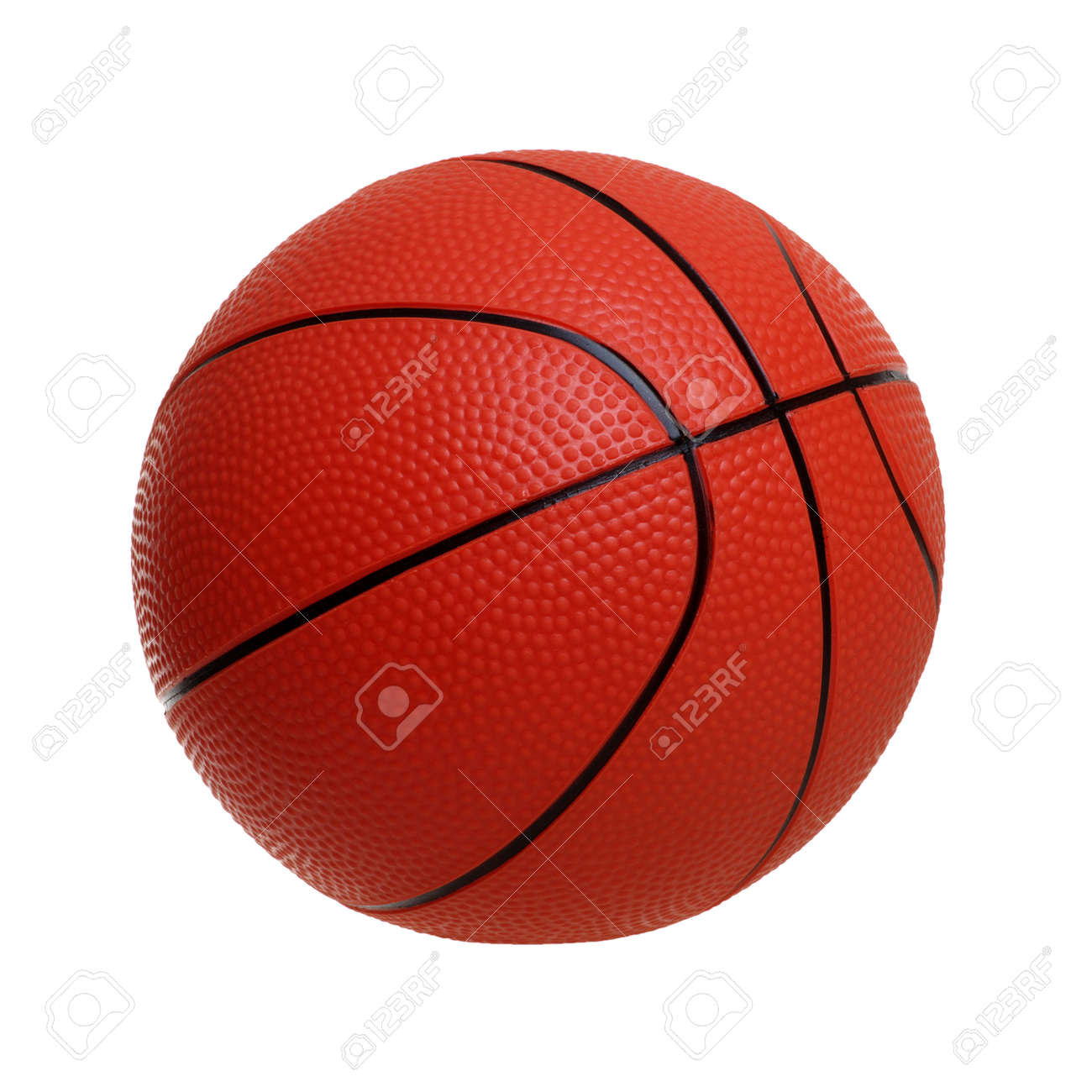 Basketball toy isolated on a white background - 130280172