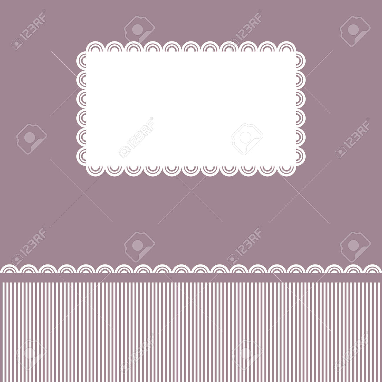 Beautiful card for congratulations Stock Vector - 17811505