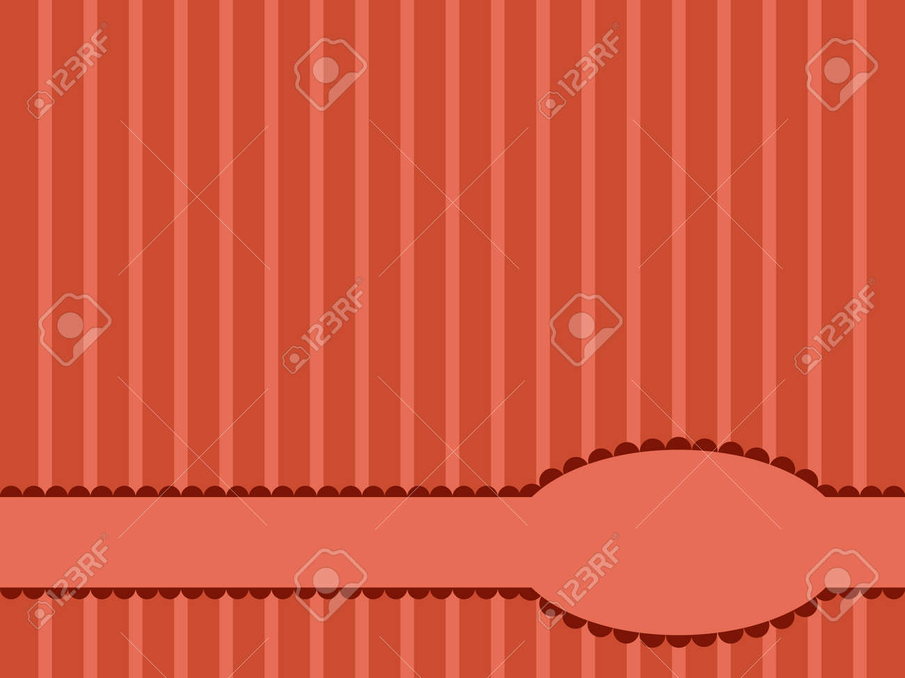 greeting card template design Stock Vector - 17811567