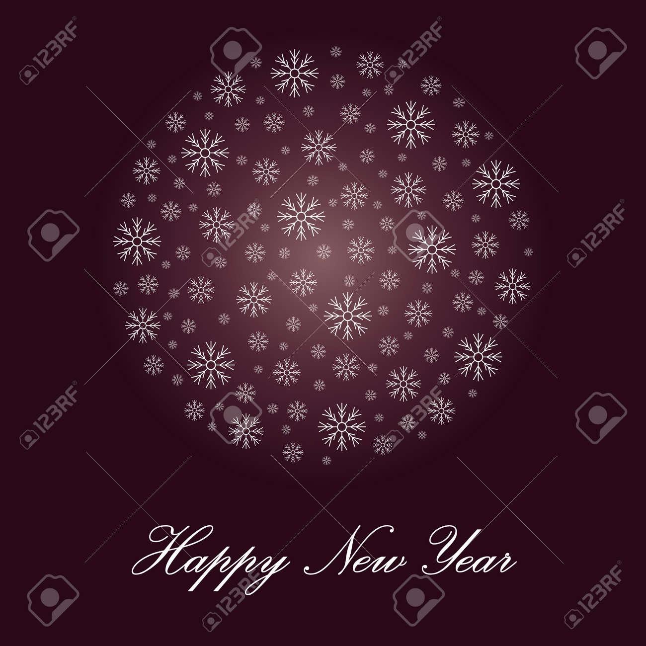 Vorlage Für Grüße Frohes Neues Jahr Lizenzfrei Nutzbare ...