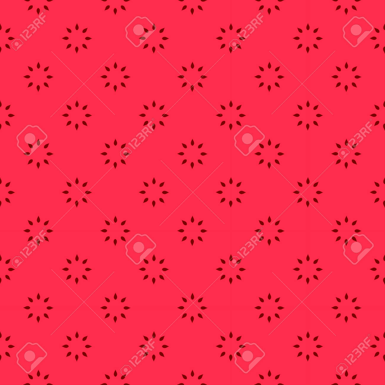 Red Floral Background Fo Wedding Invitation Card Stock Photo ...