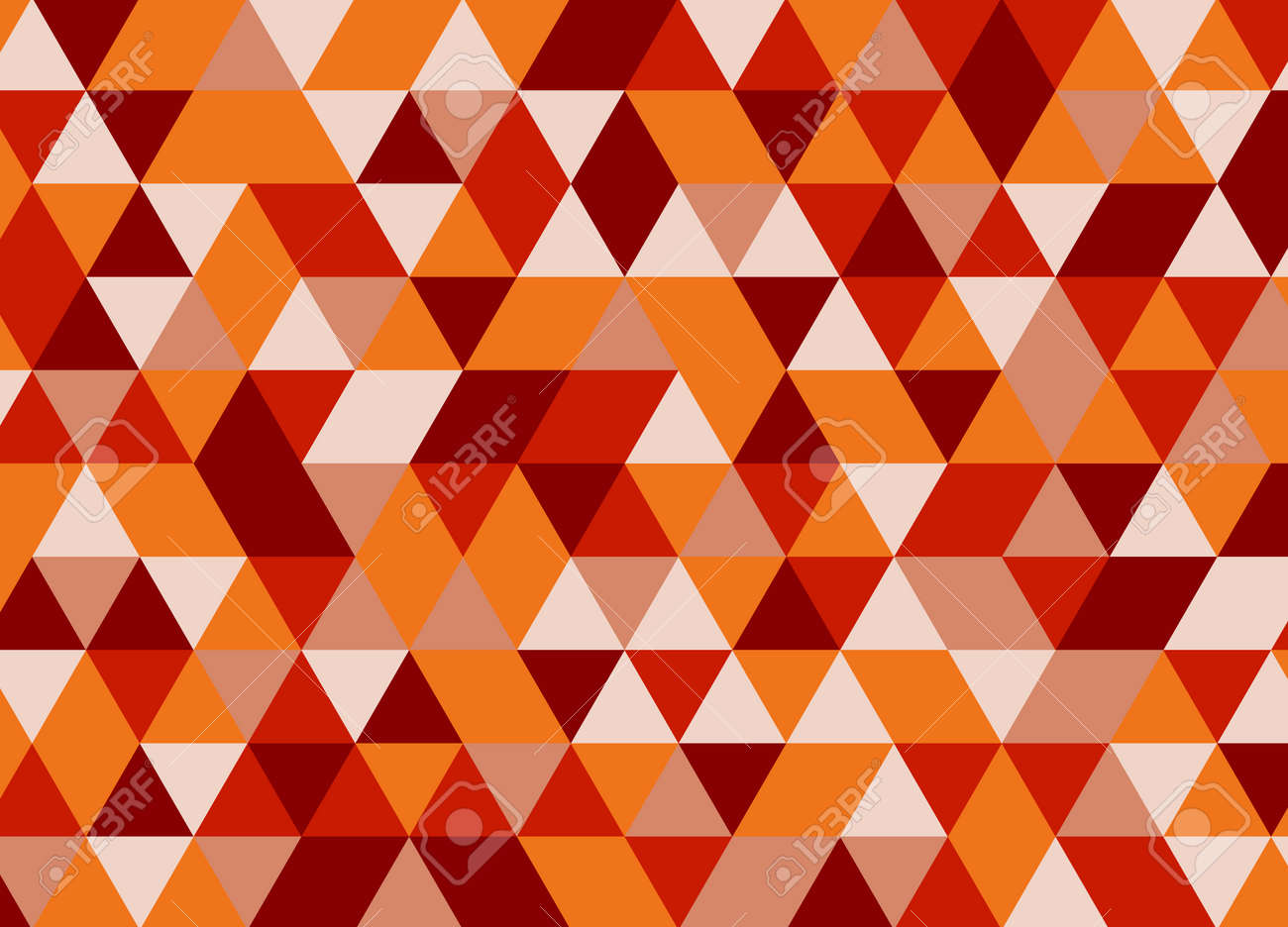 Vector modern colorful geometry triangle pattern, color abstract geometric background, pillow multicolored print, retro texture, hipster fashion design Foto de archivo - 64001798