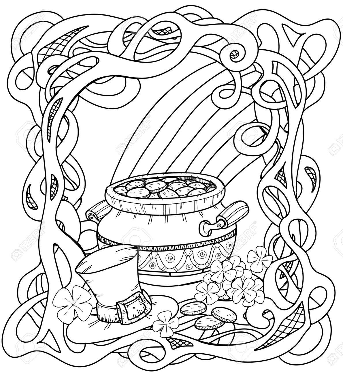 Ziemlich St. Patricks Day Klee Malvorlagen Zeitgenössisch - Beispiel ...