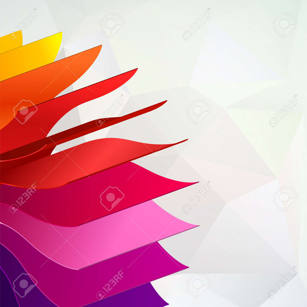 Colorful Background With Book Pages Rainbow For Your Web Design ...