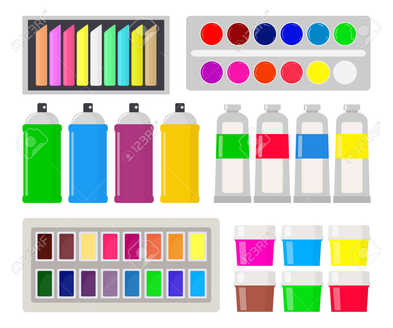 Different Types Of Paints For Art