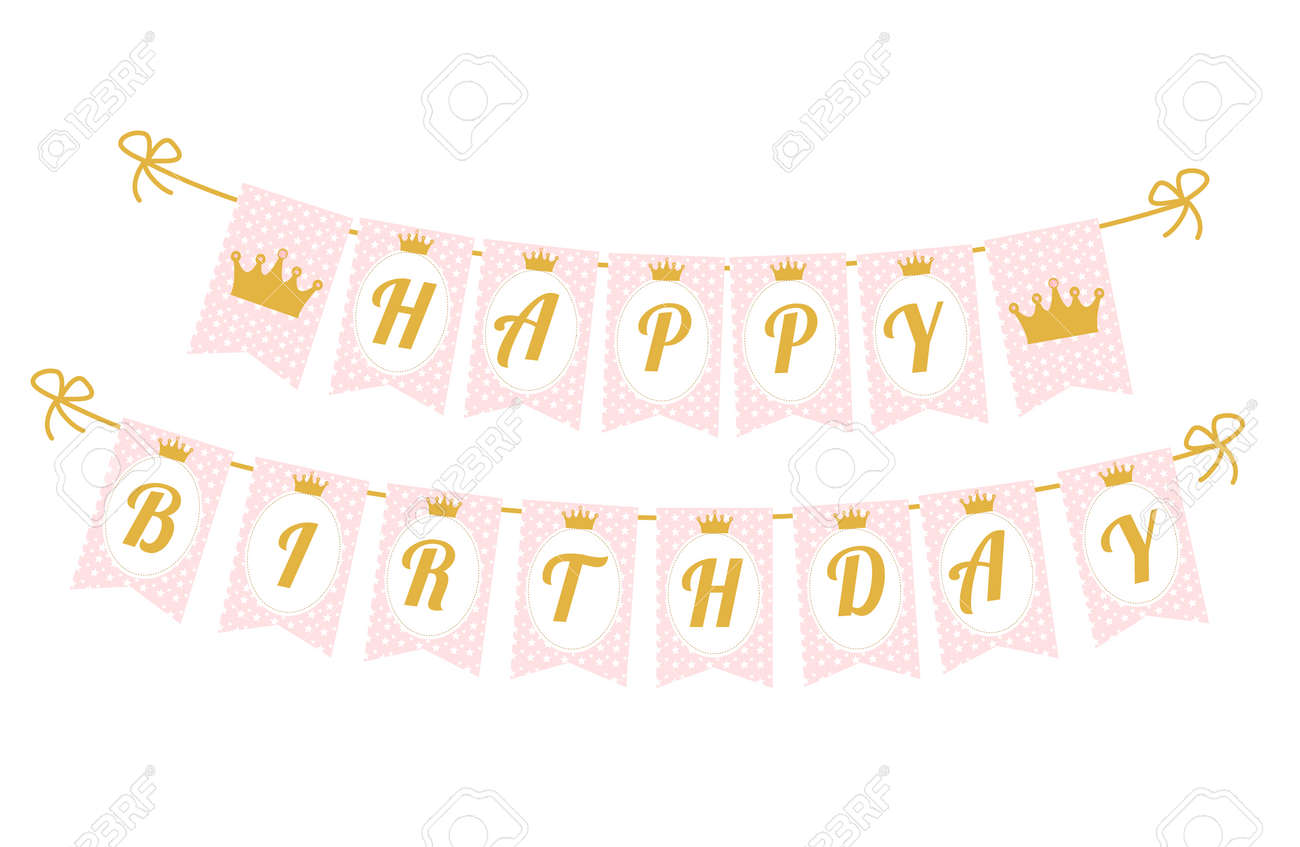 image regarding Happy Birthday Printable Letters named Printable template flags. Adorable pennant banner as flags with letters..
