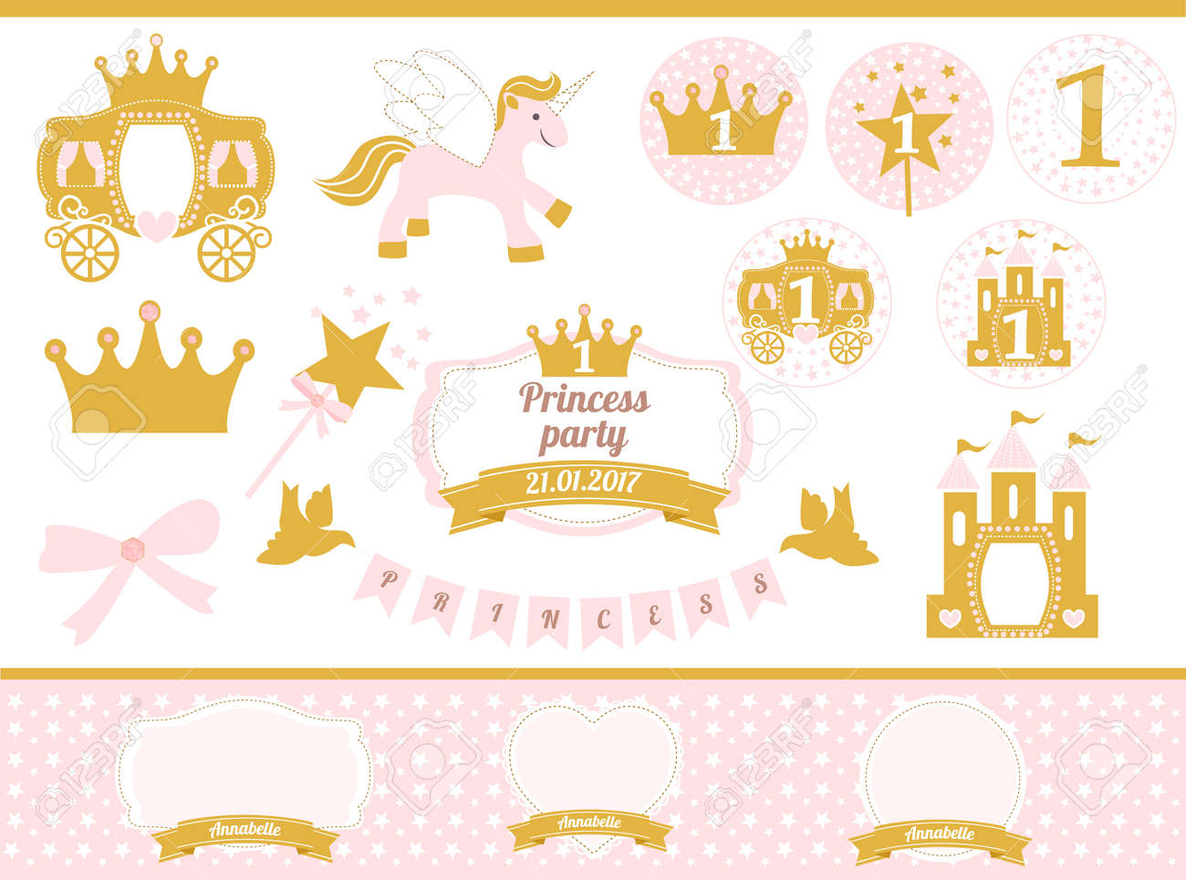 princess party template Togo wpart