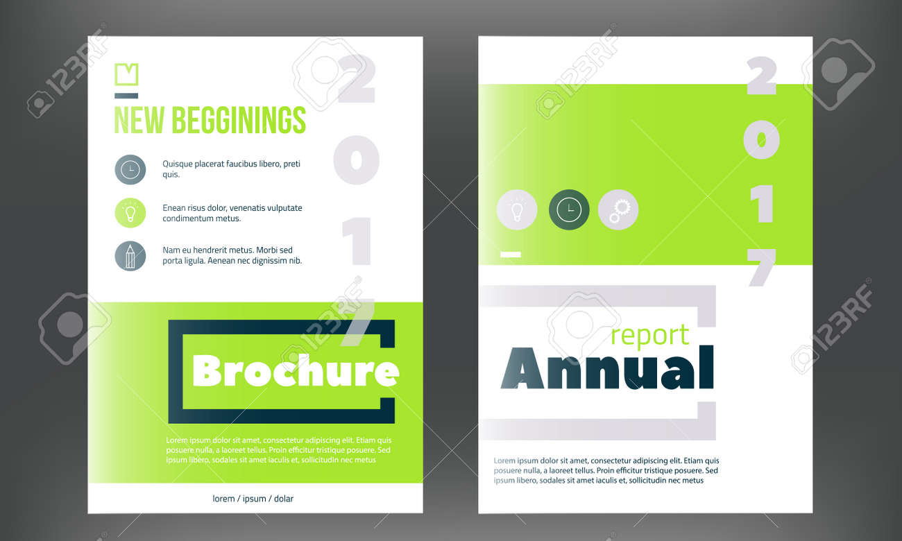 Green vector brochure cover template business annual report green vector brochure cover template business annual report designclean flyer professional corporate flashek Choice Image