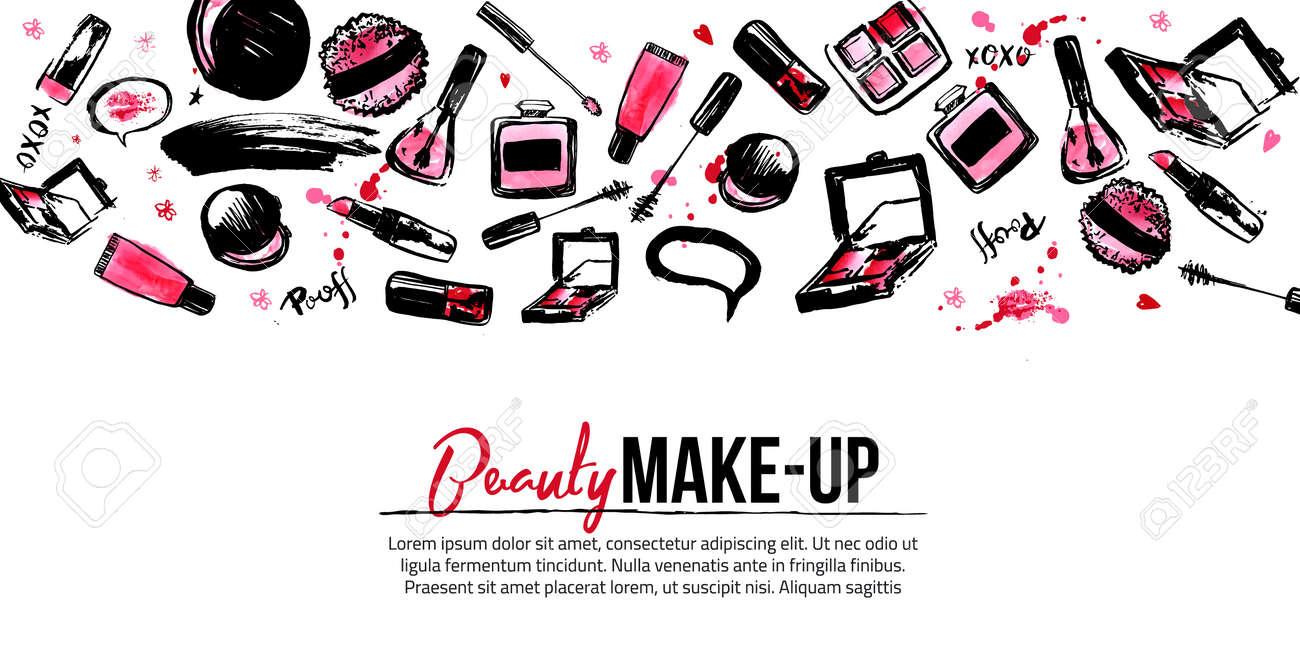 Modele De Banniere Site Pour Artiste Maquillage Studio En