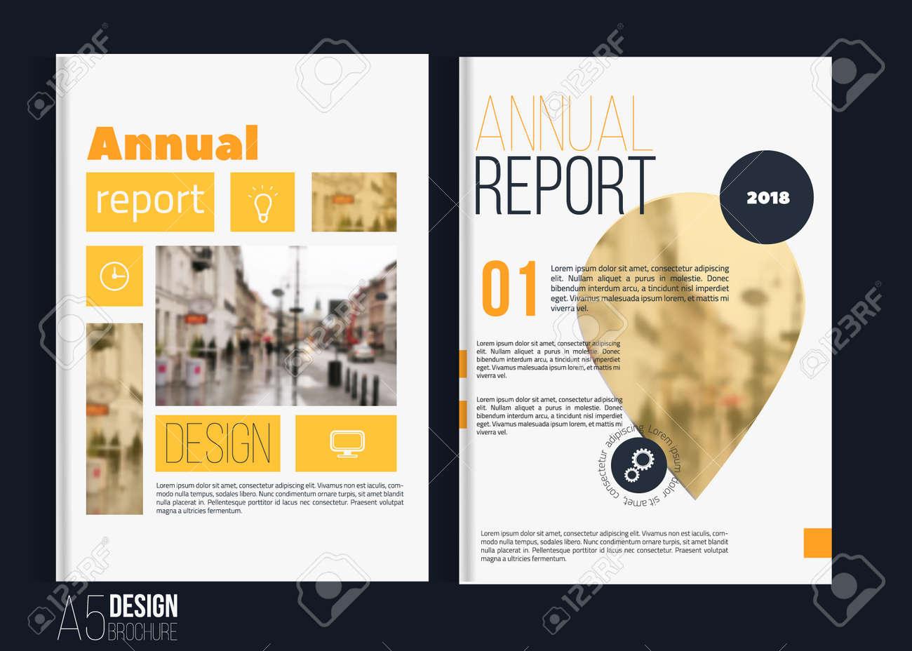 a5 landscape brochure template.html