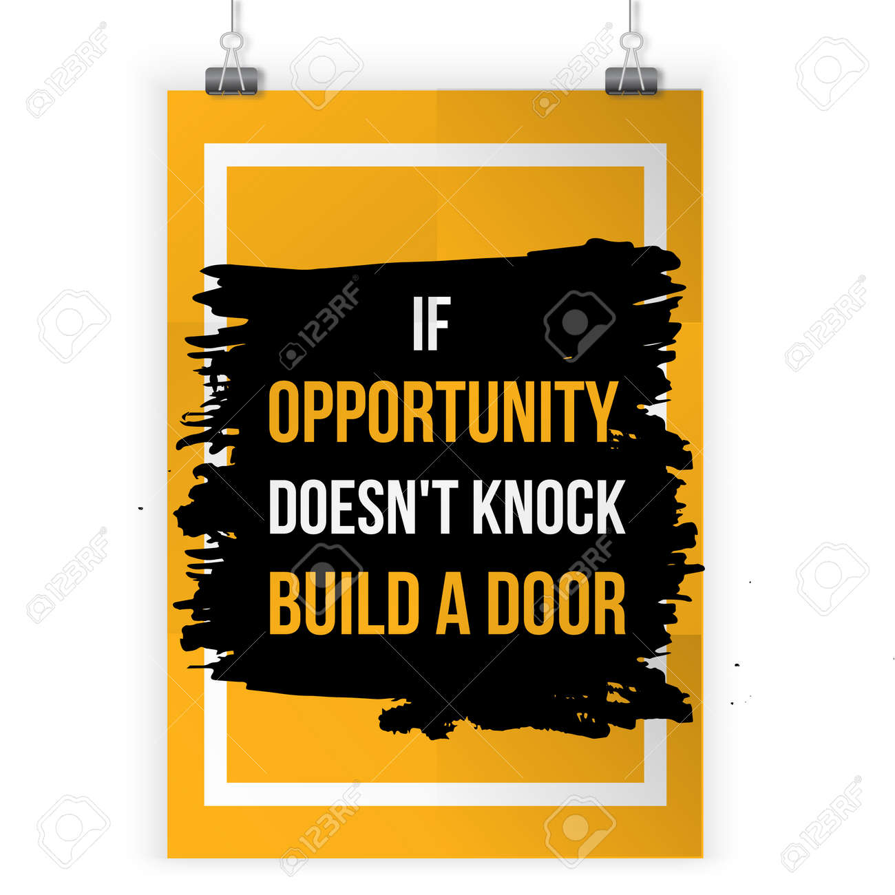 If Opportunity Doesnt Knock Build A Door Motivation Business