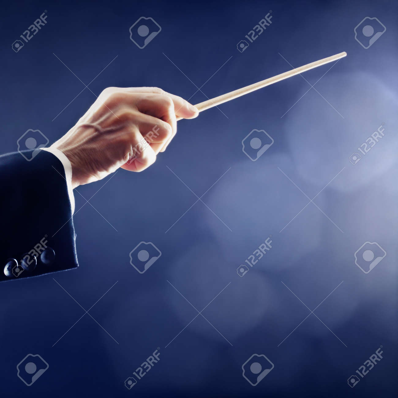 Music conductor hands orchestra conducting Standard-Bild - 20954023