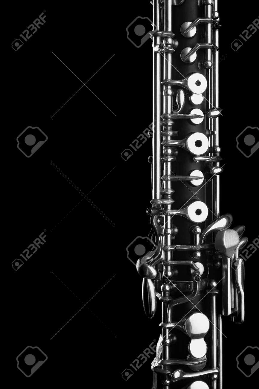 Orchestra musical instruments - oboe Standard-Bild - 20954175