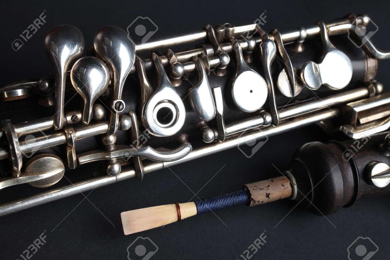 Oboe woodwind musical instruments Standard-Bild - 22220662