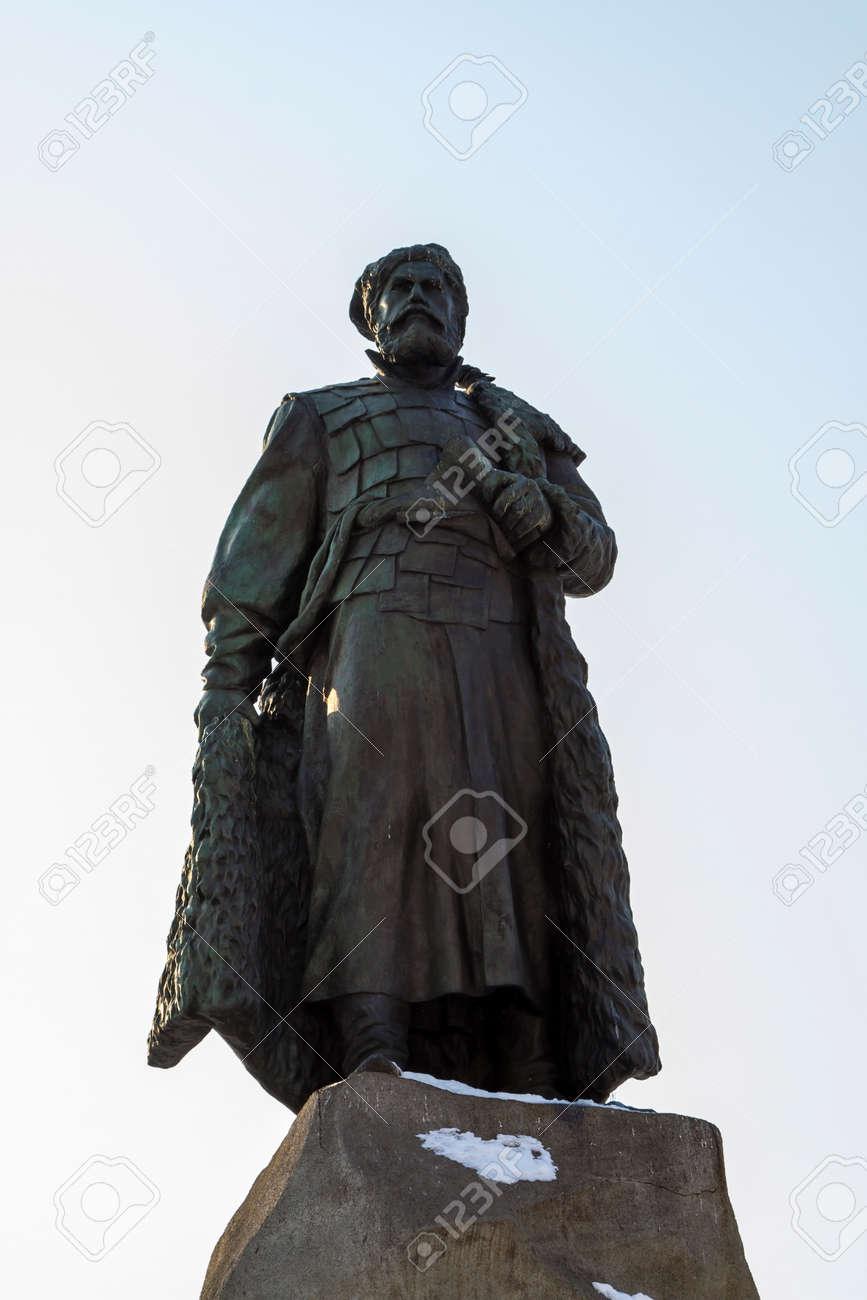 エロフェイ ・ ハバロフの記念碑...
