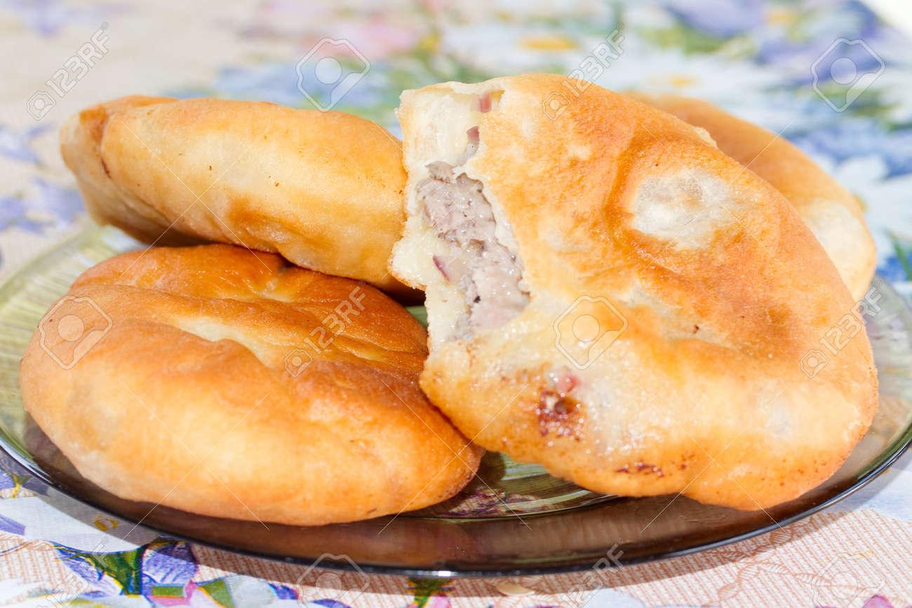 Belyashi with meat, recipe