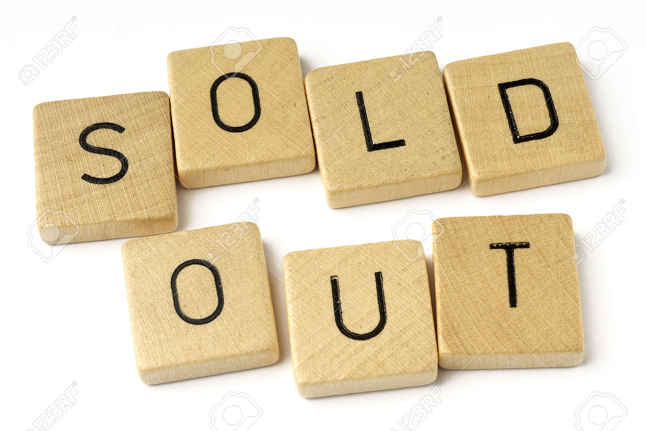 sold out Stock Photo - 10995835